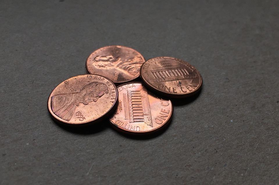 čtyři centy