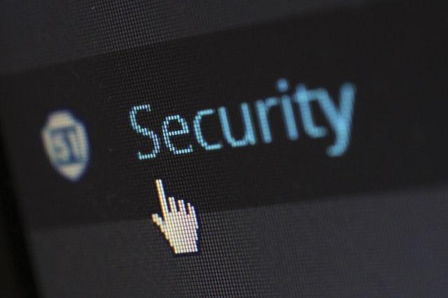 Nápis security