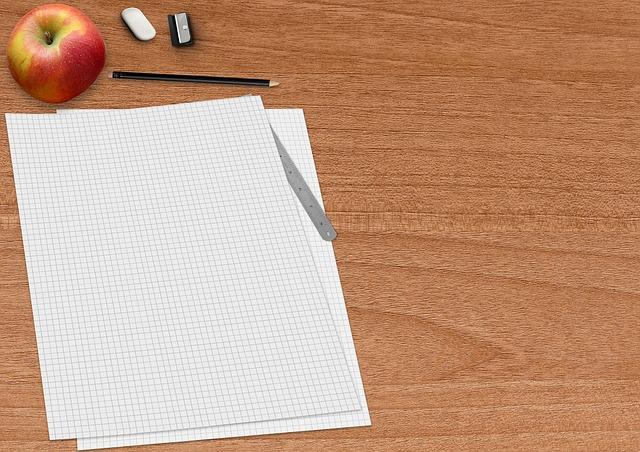 připravený papír